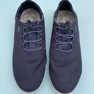 Olukai Shoes - Mens Alapa Li Blue Mesh Sneakers